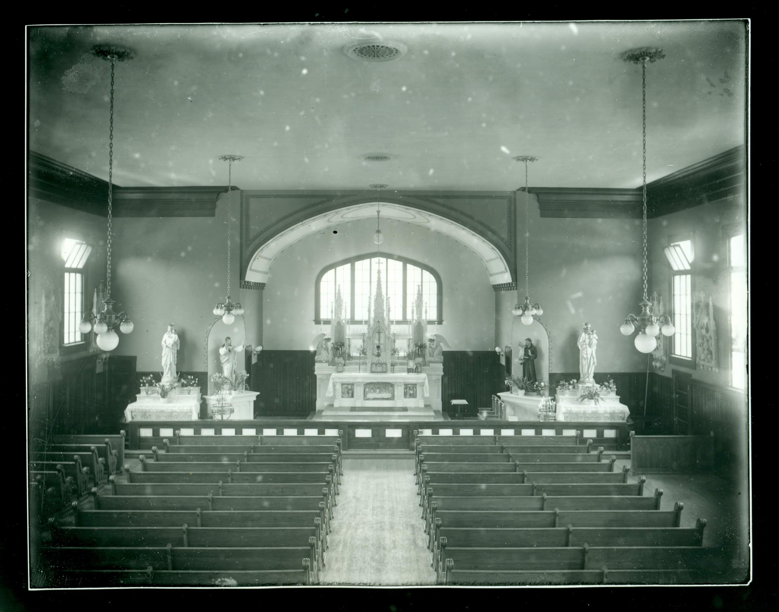 Altar St. Philip's Church 1st Mass 9/15/1912